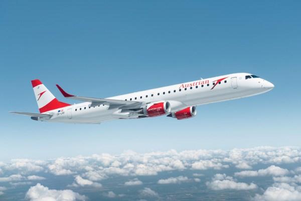 Embraer 195 (© Austrian)