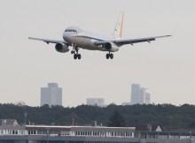 A320 ATRA im Anflug auf Frankfurt (© DLR)