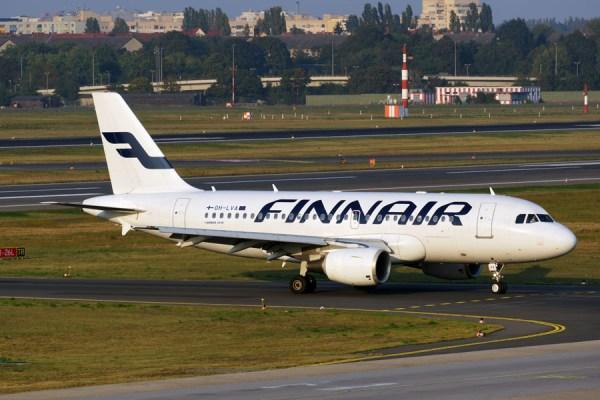 Airbus A319 der Finnair (© O. Pritzkow)
