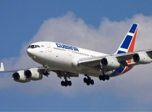 Cubana Il-96-300 im Endanflug (GNU 1.2 O. Simon)