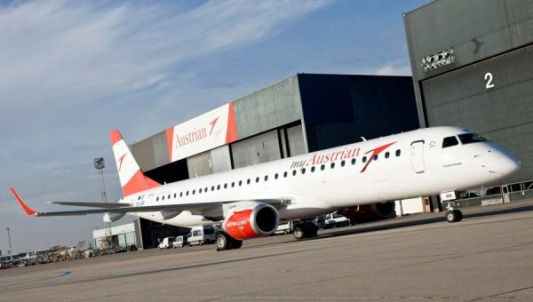 Austrian Airlines Embraer 195 (© AUA M. Pauty)