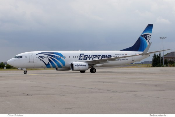 Egypt Air Boeing 737-800 (© O. Pritzkow)
