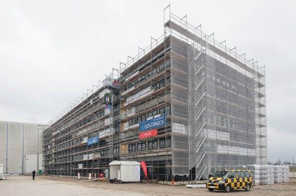 Neues BVD-Gebäude (© Goldbeck)