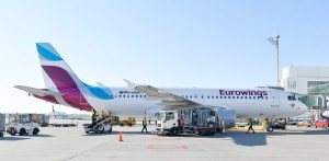 Eurowings Airbus A320 am Flughafen München (© MUC Airport)