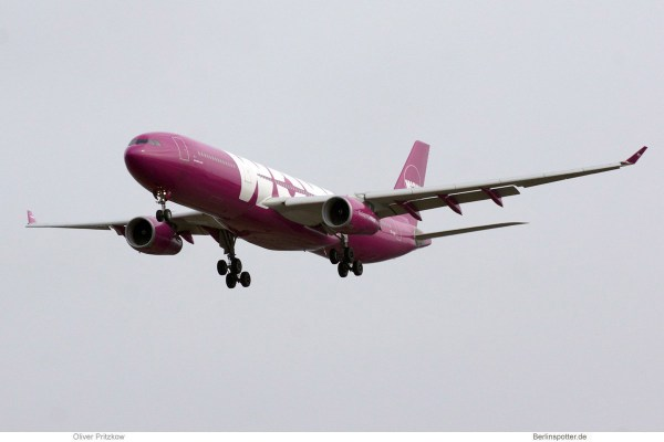 Wow Air Airbus A330-300 (© O. Pritzkow)