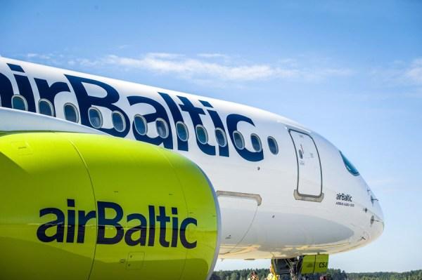 Airbus A220 der Air Baltic (Foto: Air Baltic)