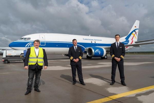 Viertes Flugzeug für Cargologic Germany (Leipzig/Halle Airport, Uwe Schoßig)