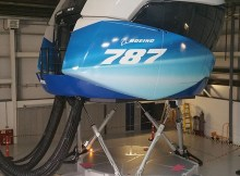 787 Full Flight Simulator (Foto: L3Harris)