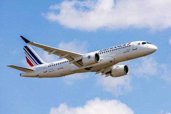 Air France Airbus A220 (Foto: Airbus)