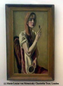 Selbstportrait Marie-Louise von Motesiczky I