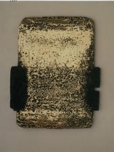 Pierre Soulages, Bronze III, 1977, 117,5 x 95 cm, collection particulière Photo: F. Walch © ADAGP, Paris 2009