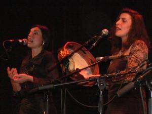 I Gricanti, Anna und Enza (Foto: Strasmed)