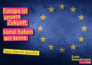 FDP-EUROPA-GenscherZitat