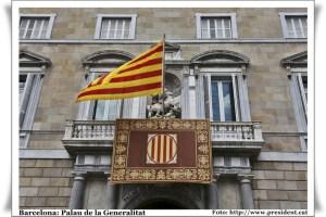 Façana del Palau de la Generalitat