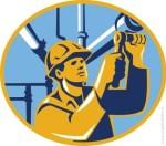 Pipeline-Symboldbild-Arbeiter