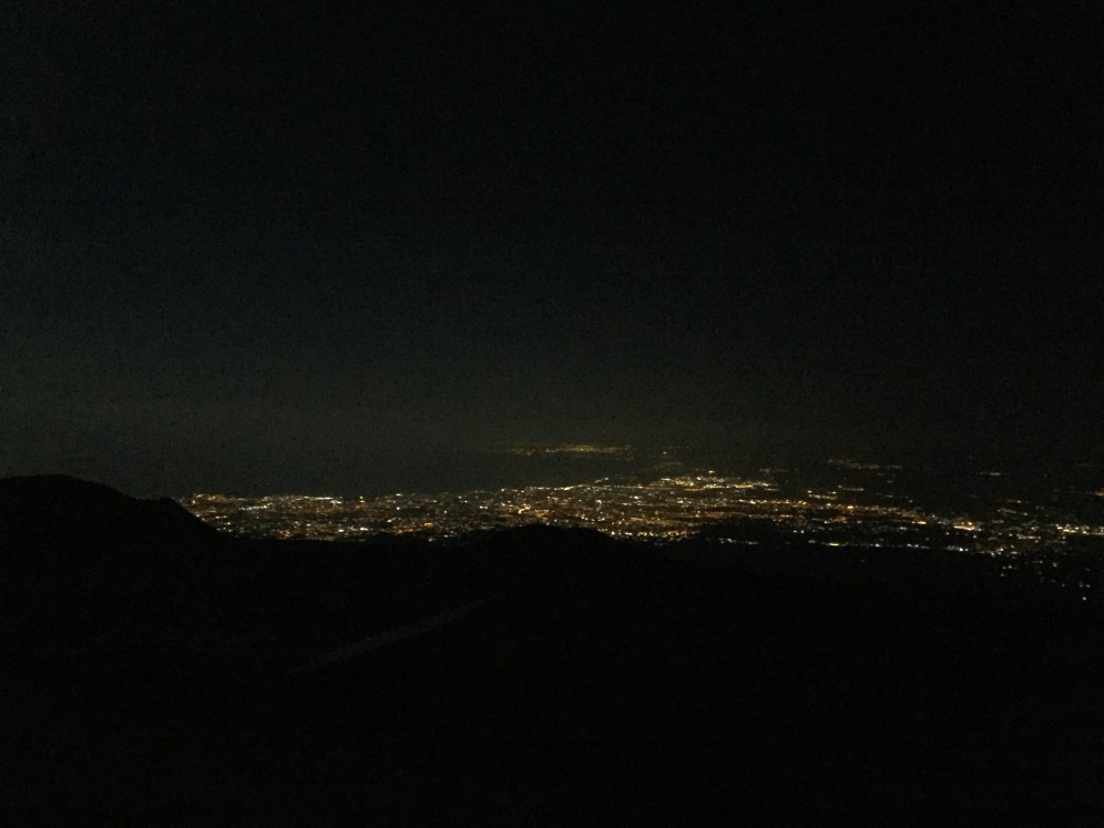 View of Catania, tomorrow we climb Etna then Catania
