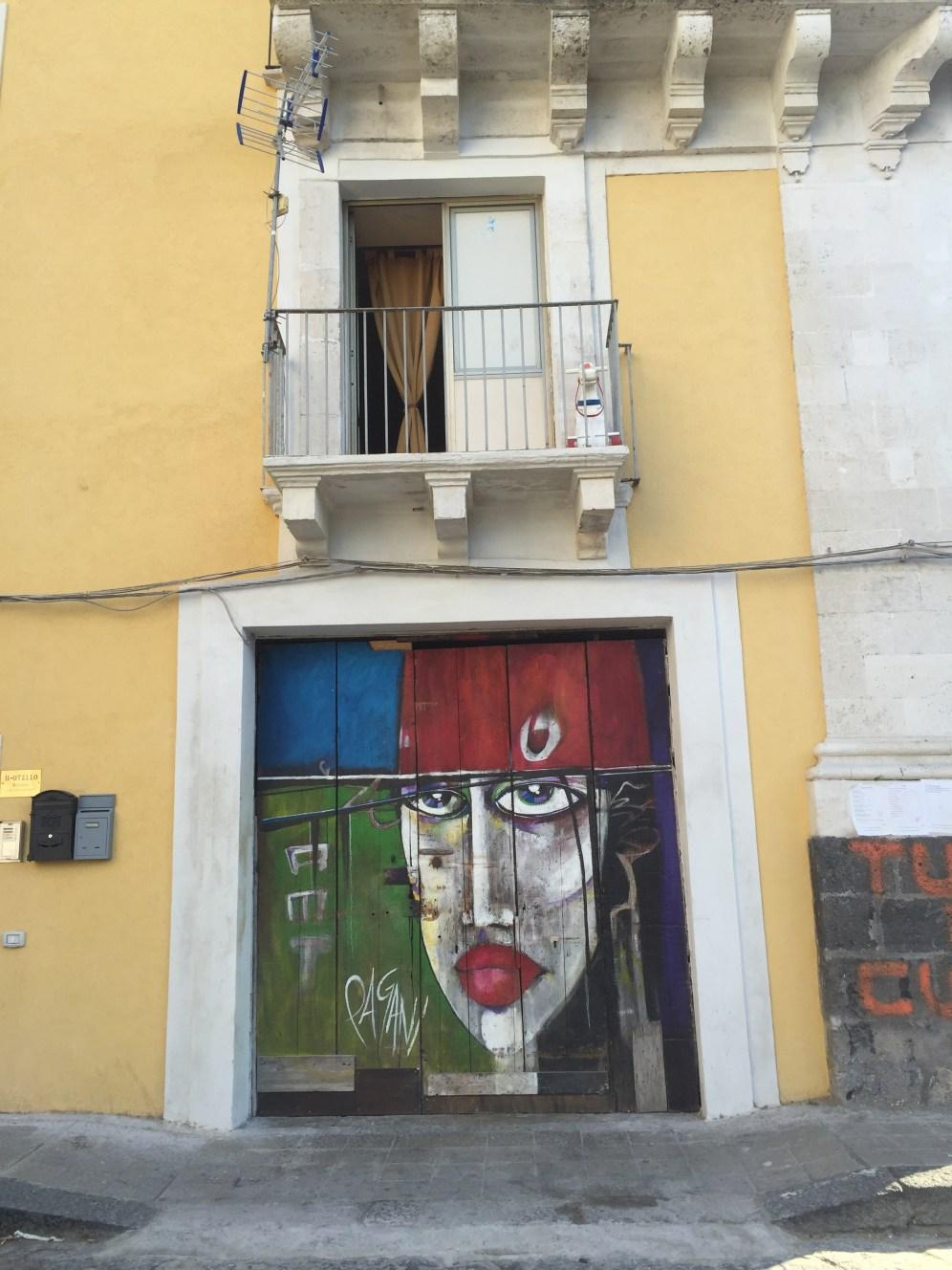 graffiti in Catania