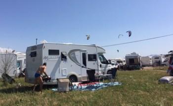 #hotsulfursprings #camperadventures #ItalianRVing #CamperInternational #CamperLife #talamone #kitebeach