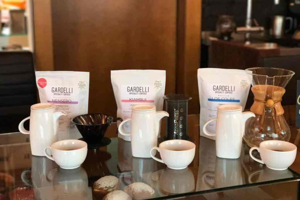 Pączuś i Kawusia, Coffee by Gardelli Speciiality Coffee Roasters
