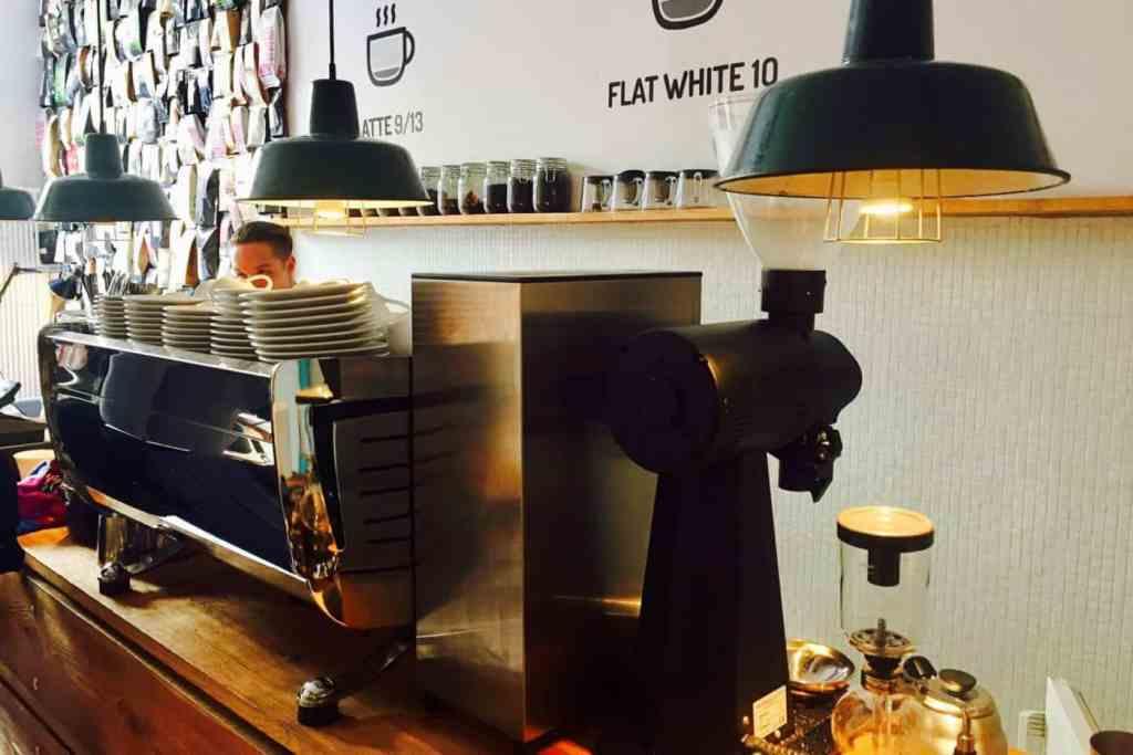 Stragan's coffee machine