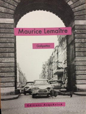 The cover of Galipettes (1965) / Maurice Lemaître. (classmark: F201.a.1.8)