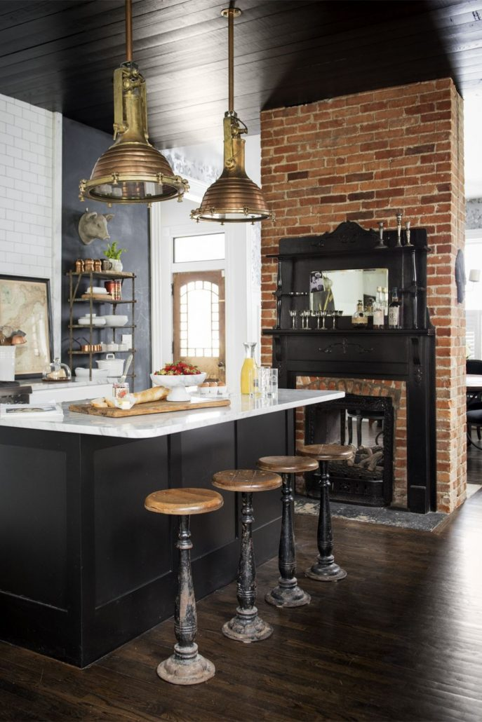 15 Black Kitchen Cabinets That You Ll Swoon For European