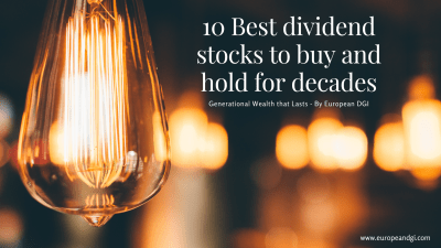 10 Best dividend stocks to buy and hold for decades (1)