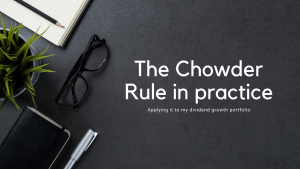 Read more about the article The Chowder Rule in practice: applying it to my DGI portfolio