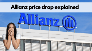Read more about the article Allianz share price drop explained