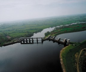 There is no fish pass for silver eels on the Shannon