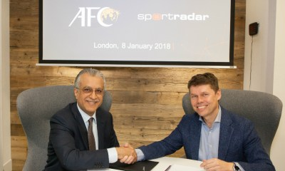 AFC extends and expands partnership with Sportradar