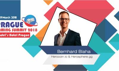Bernhard Blaha to speak at Prague Gaming Summit