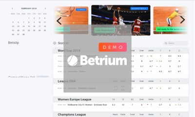 Betrium Launches Worldwide Bookmaker and Betting Exchange Demo Platform