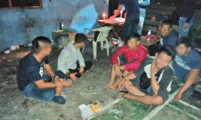 91 held in 33 raids for illegal online gambling
