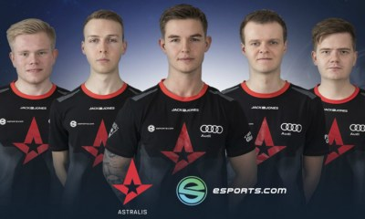 Astralis and eSports.com Sign $2 Million Sponsorship Deal