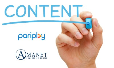 Pariplay Inks Strategic Content Partnership with AMATIC's AMANET
