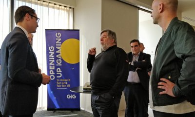 STEVE 'WOZ' WOZNIAK ROCKS AUDIENCE AT GIG'S ANNUAL EMPLOYEE CONFERENCE