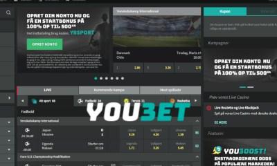 SBTech launches latest Danske Spil site Youbet.dk