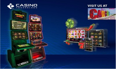 Casino Technology launches EZ MODULO™ for the Mexican market at Caribbean Gaming Show