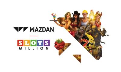 Wazdan partners with SlotsMillion