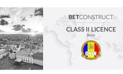 BetConstruct receives Romanian Class II Licence for Retail Solutions