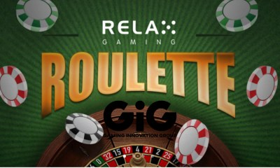 GiG partners with Relax Gaming