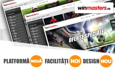 Winmasters.ro launches it's new online gaming platform