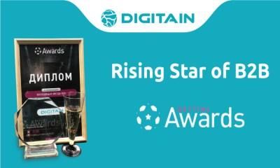 Digitain Gains Rising Star of B2B Award at Russian Gaming Week