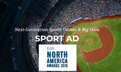 SportAD wins Best New Game at prestigious 2018 EGR Awards