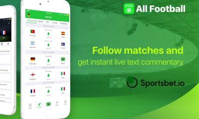 Sportsbet.io and All Football App in Landmark Partnership