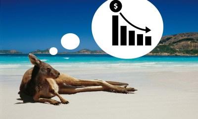 Australian gambling numbers come down