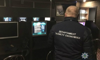 Criminal group dealing with illegal gambling in Lviv