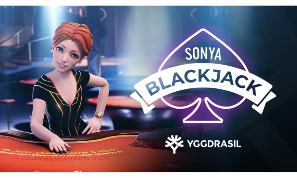 Yggdrasil rips up rulebook with launch of first table game, Sonya Blackjack