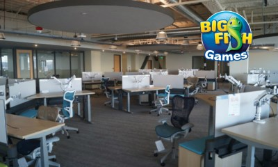 Big Fish Games migrates to new HQ, with plans to reel in top talent with eye-catching space